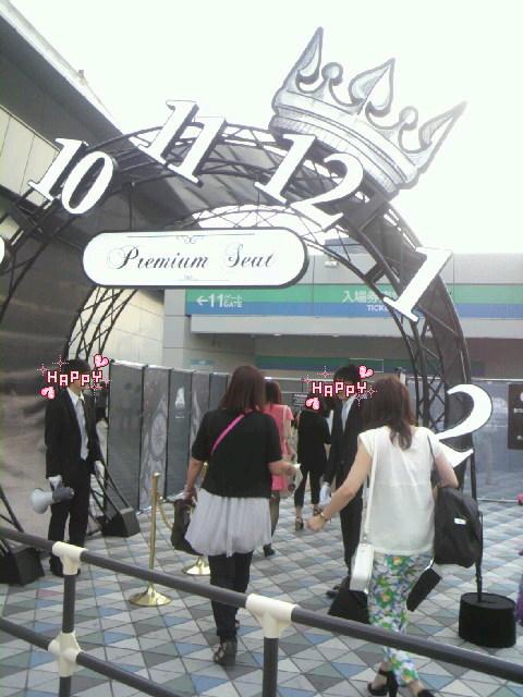 東方神起☆TIME<br />  ☆TOKYO DOME<br />  レポ1