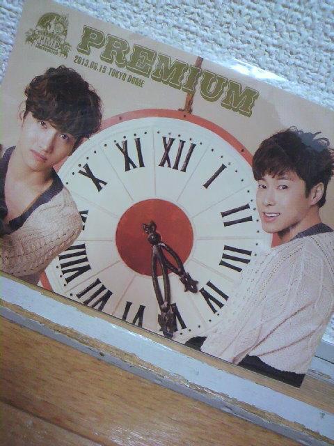東方神起☆TIME<br />  ☆TOKYO DOME<br />  レポ3